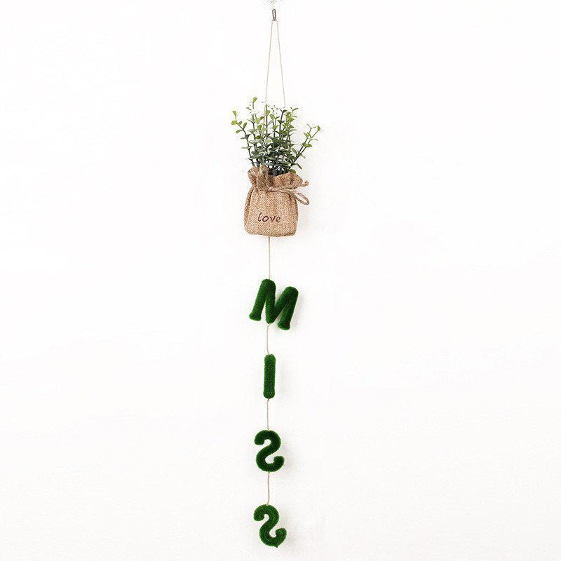 Shop Exquisite Home Decoration Hanging Pots Fashion Artificial Plants