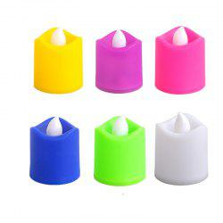 Electronic Candle LED Light Colorful Romantic Birthday Party Christmas Decor -