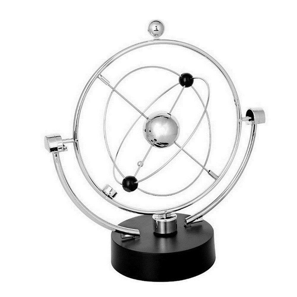 Latest Milky Way Celestial Bodies Kinetic Motion Orbital Desk Toy Science Art Decoratio