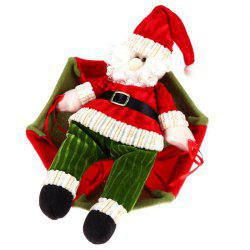 DIY Christmas Party Parachute Pendant Decorations Santa Claus Snowman -