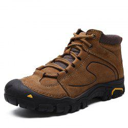Boots Genuine Leather Casual Shoes Safety Shoes Walking Footwear -