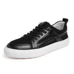Men Casual Shoes Flat Shoes Genuine Leather Shoes -