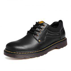 Leather Shoes Male Casual Shoes -
