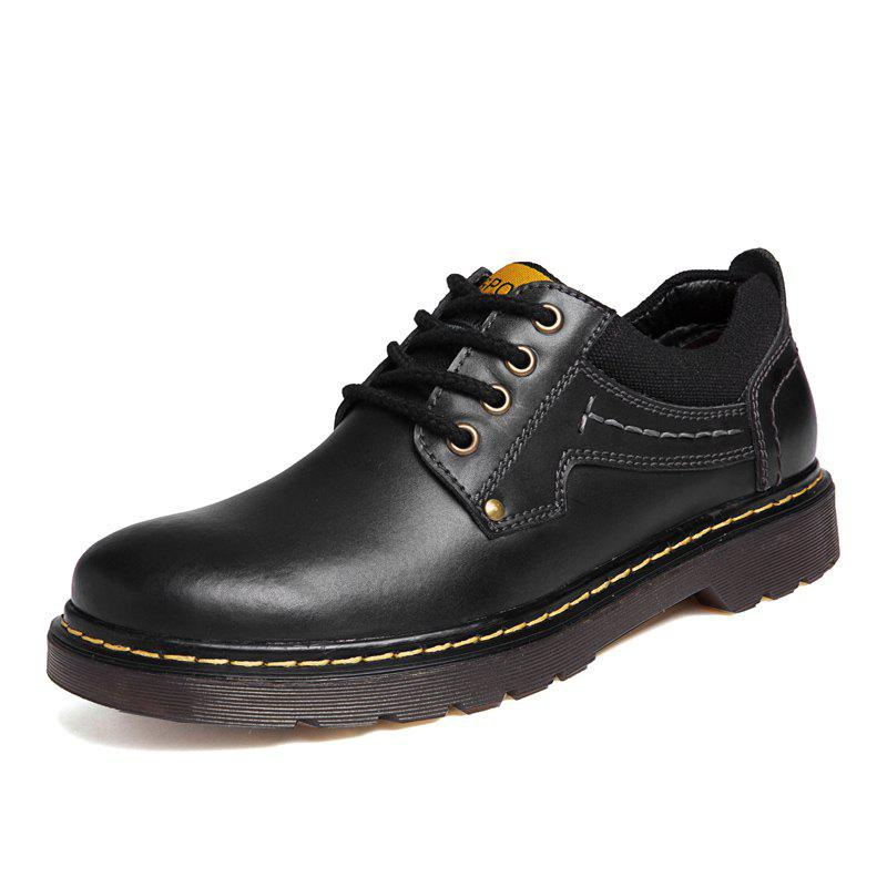 Shop Leather Shoes Male Casual Shoes