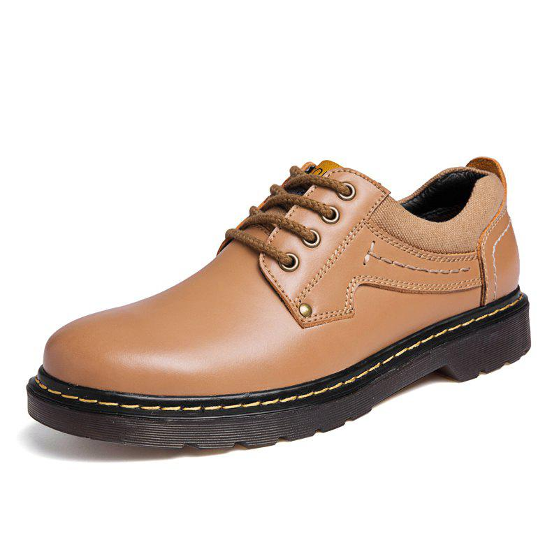 Unique Leather Shoes Male Casual Shoes