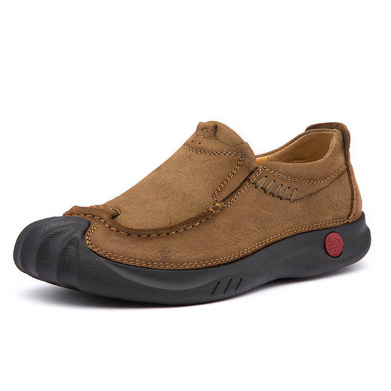 Affordable Work Shoes Casual Shoes Genuine Leather Safety Shoes