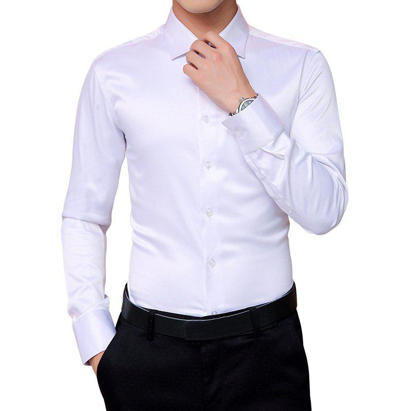 Latest Men'S All-Color Long-Sleeved Shirt Jacket Casual Shirt