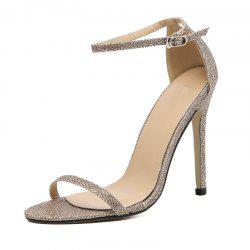 Women's Stiletto Open Toe Sandals Sexy Party High Heels -