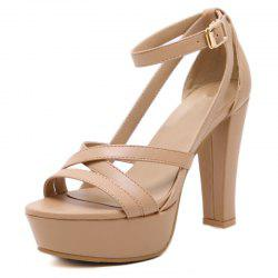 Women's Platform Sandals London High Heels -