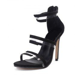 Women's Stiletto Open Toe Sandals Sexy Party Shoes -