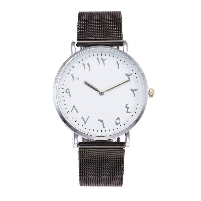 Discount Fashion Arabic Digital Wire Strap Watch