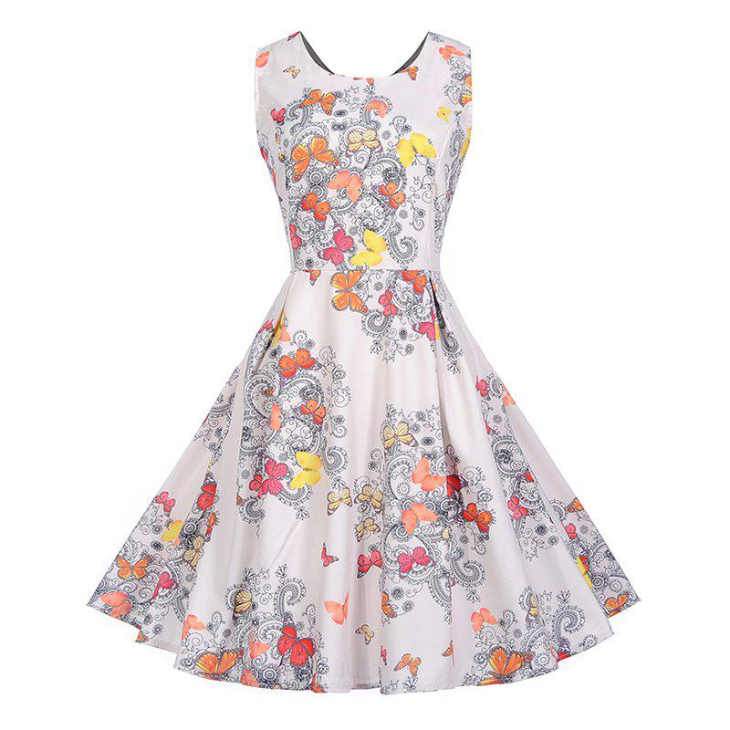 Unique Summer Lady Accept Big Waist Cultivate One'S Morality Dress