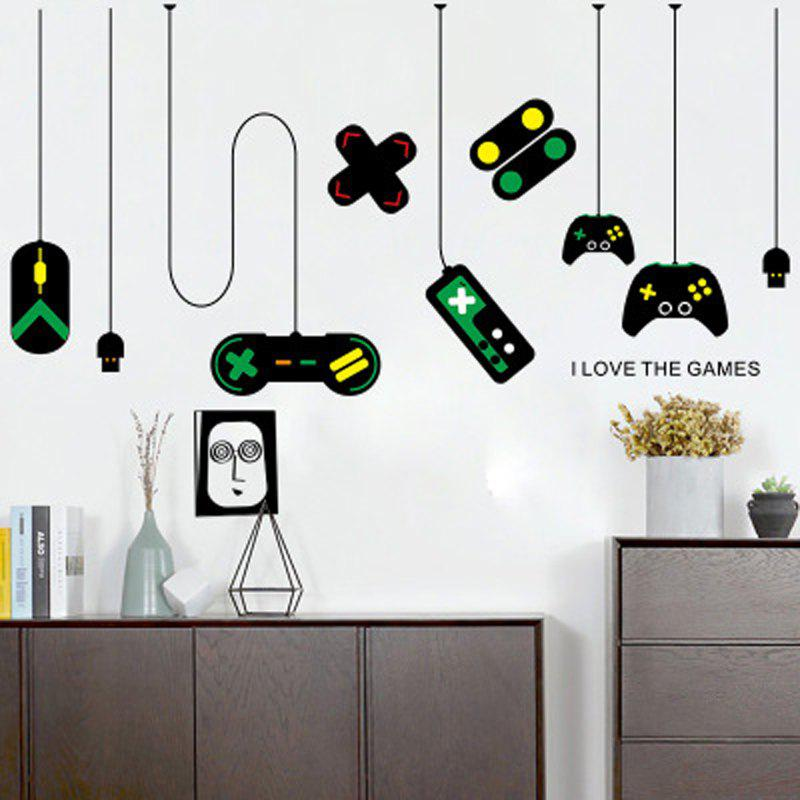 Buy Game Handle Wall Post The Internet Bar Computer Desk Background Stickers