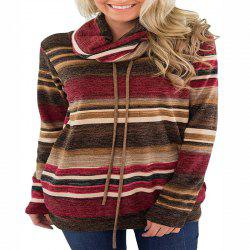 New Baggy Stacked Collared Long Sleeve T-Shirt -
