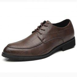 Man Han Edition Trend of Leather Shoes Business Leather Shoes with Recreation -