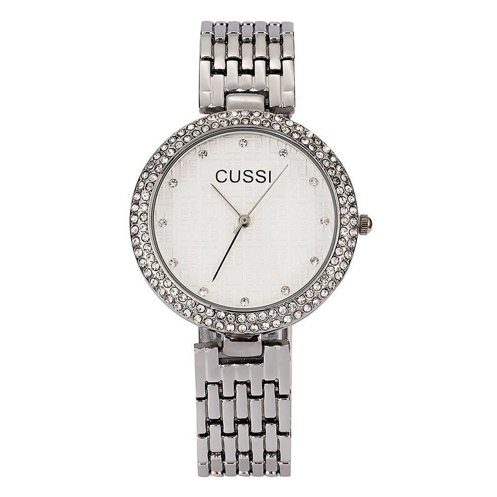 Latest Fashion High-end steel Band Wrist Watch IGP Gold Plated Plated Diamond Watch