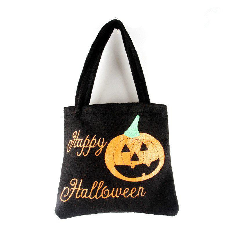 Unique Halloween Portable Non-Woven Fabric Candy Bag