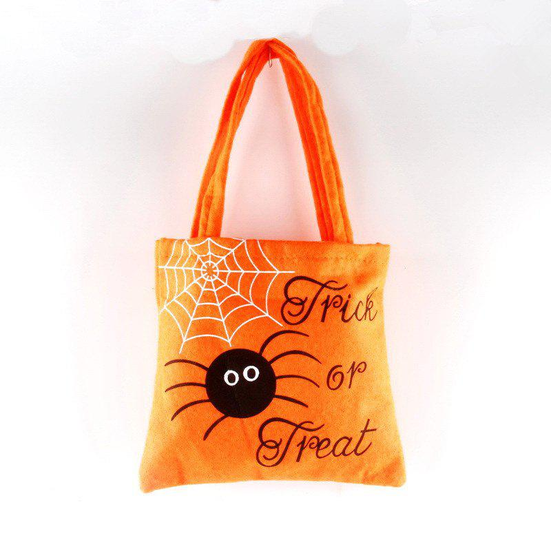 Hot Halloween Portable Non-Woven Fabric Candy Bag
