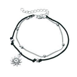 Bohemia Multi Layer Beads Anklets For Women -