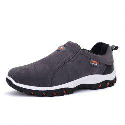 ZEACAVA Plus Size Outdoor Slip-on Hiking Shoes for Men -
