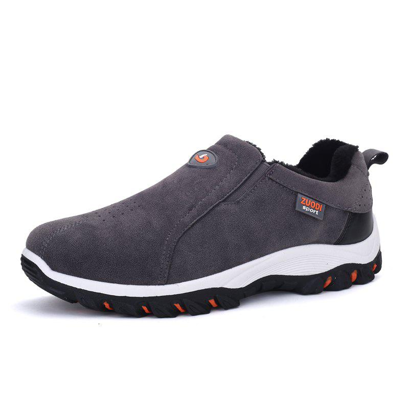 Discount ZEACAVA Plus Size Outdoor Slip-on Hiking Shoes for Men