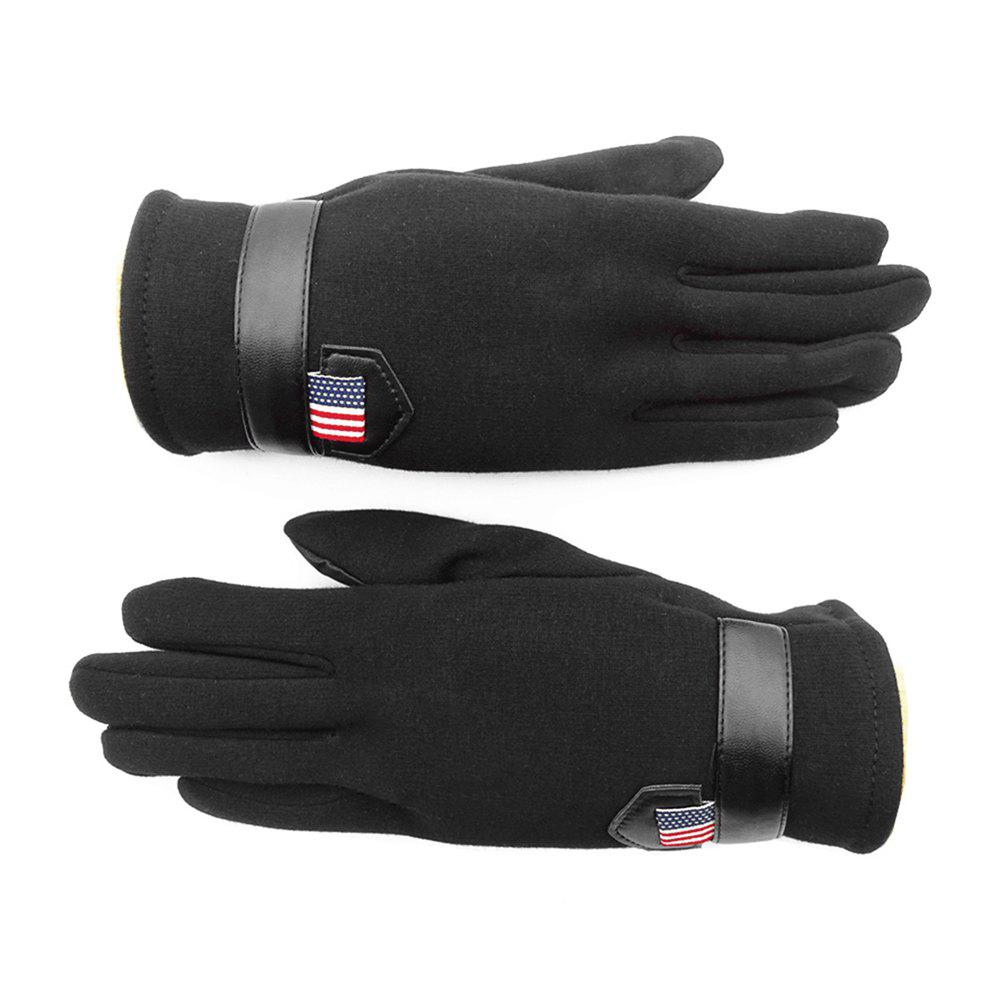 Outfits Outdoor Cold and Warm Touch Screen Velvet Gloves for Men and Women