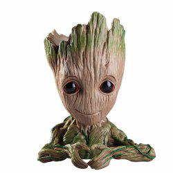 Creative Tree Man Flower Pot Figure Modèle Cadeau -