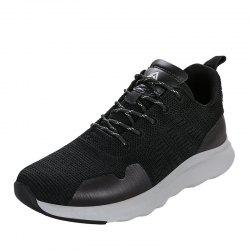 HUMTTO Running Shoes Men Lightweight Cushioning PU Fabric Sneakers -