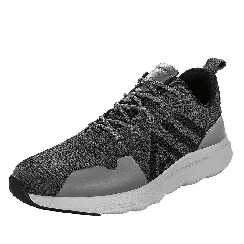 Hot HUMTTO Running Shoes Men Lightweight Cushioning PU Fabric Sneakers