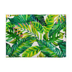 Coloured Drawing Or Pattern of Banana Digital Single - Sided Printed Linen Table -