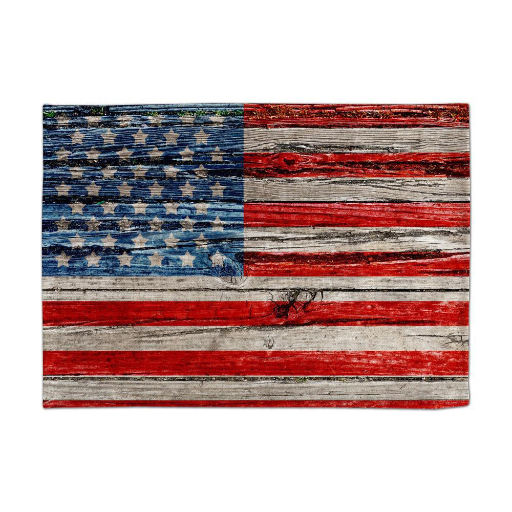 Affordable Board Flag Digital Single Sided Printed Linen Table Mat