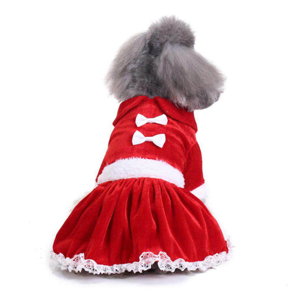 Shops Pet Dog Clothes Coats Soft Cotton Puppy Christmas Santa Costumes