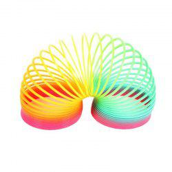 Magic Plastic Slinky Rainbow Spring Colorful New Children Funny Classic Toy -