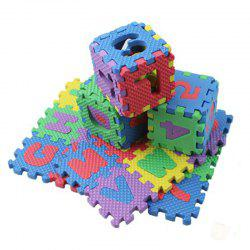 36PCS Numerals Puzzle Colourful Kids Rug Toy -