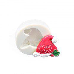 Christmas Hat Silicone Fondant Mould Chocolate Cake Decorating Tool -