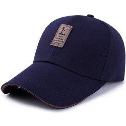 Men's Ordinary Canvas Simple Sunscreen Sunshade Casual Golf Baseball Cap -
