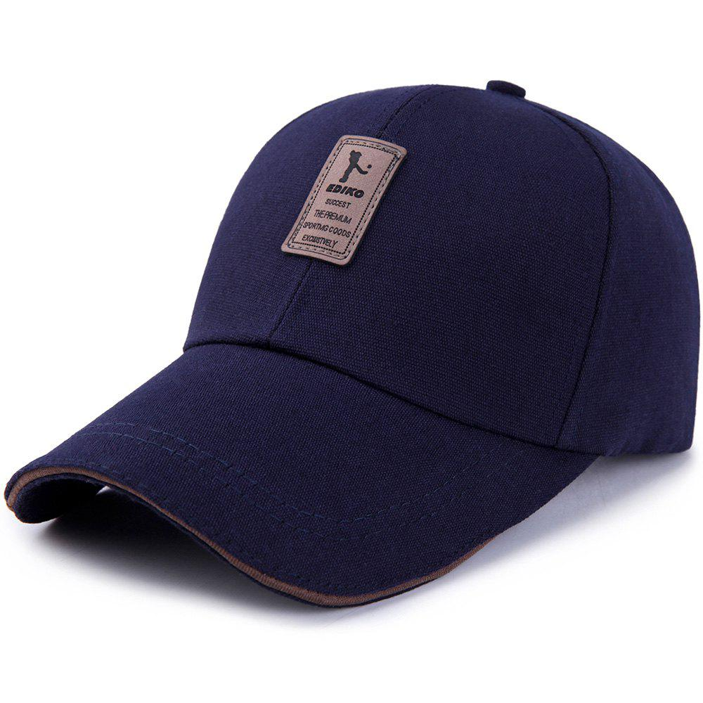 New Men's Ordinary Canvas Simple Sunscreen Sunshade Casual Golf Baseball Cap