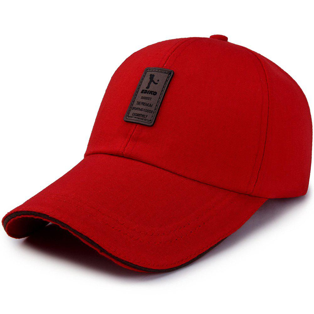 Online Men's Ordinary Canvas Simple Sunscreen Sunshade Casual Golf Baseball Cap