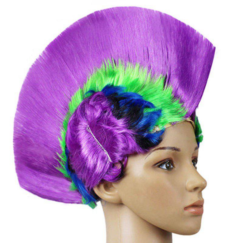 Affordable Funny Colour Fluffy Punk Comb Hair