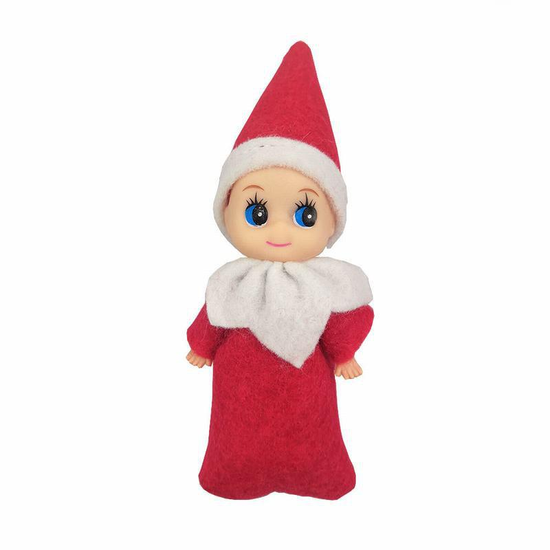 best elf baby plush christmas shelf figure decoration elves toys doll