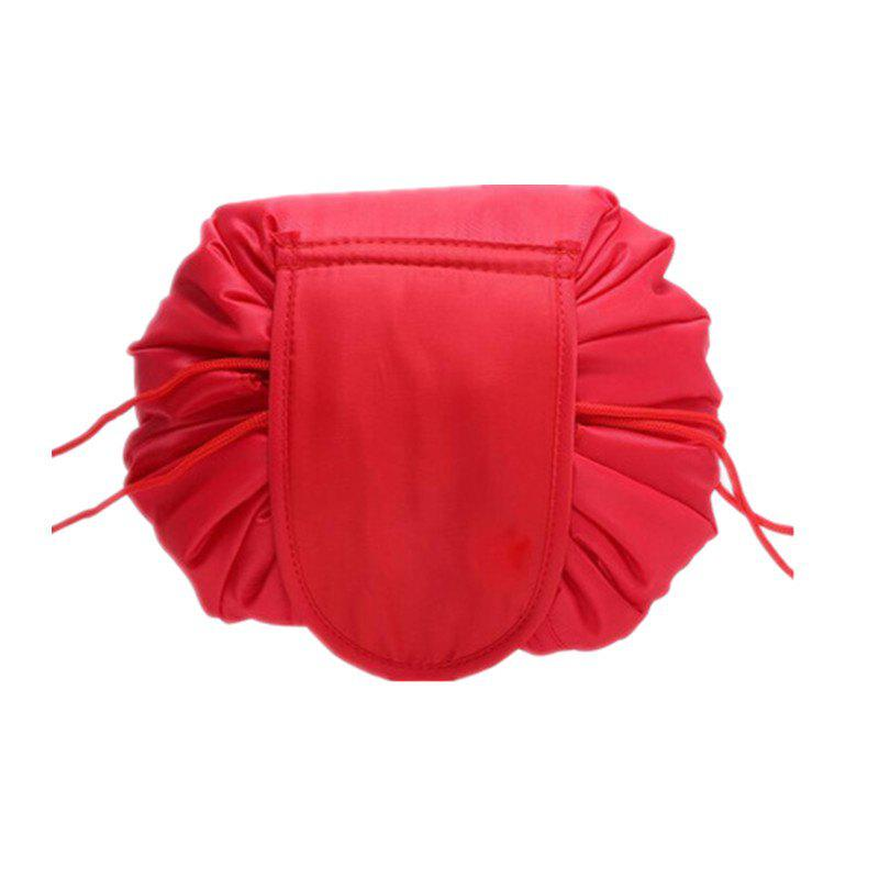Multi-Purpose Portable Travel Large Capacity Lazy Drawstring Makeup Storage Bag