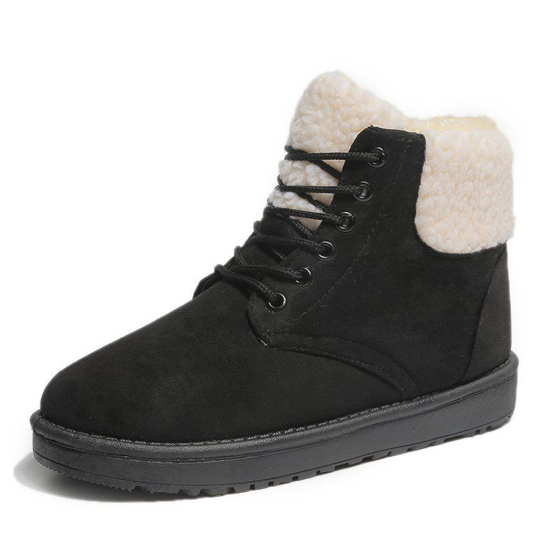 Outfits Winter Trend Snow Boots High To Help Cotton Shoes Outdoor Casual Shoes