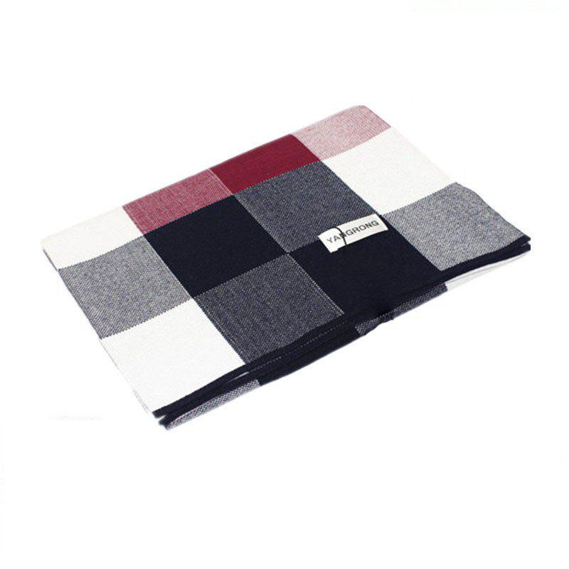 Affordable Men's Cashmere British Wind Warm Thickened Scarf