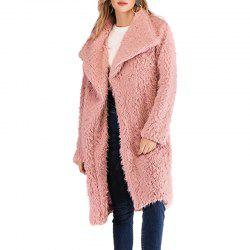 The Winter Easy Leisure Cloth Coat Lapels -