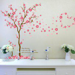 The Tree Plum Flower Wall Sitting Room Bedroom Setting Wall Adornment Wall Posts -