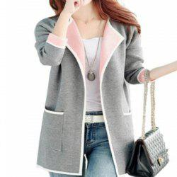 Long Cardigan Sweater for Autumn Wear -