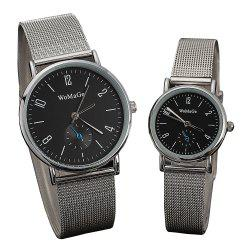 Men and Women Classic  Watch Concise Digital Disk leisure With Quartz Watch -
