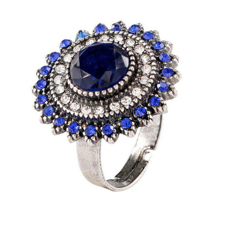Latest Jewelry  Fashion Sunflower Ring Opening Ring