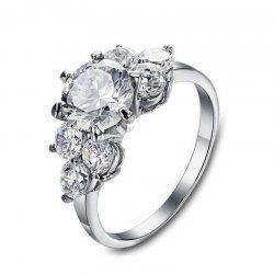 Platinum Diamond Engagement Ring -