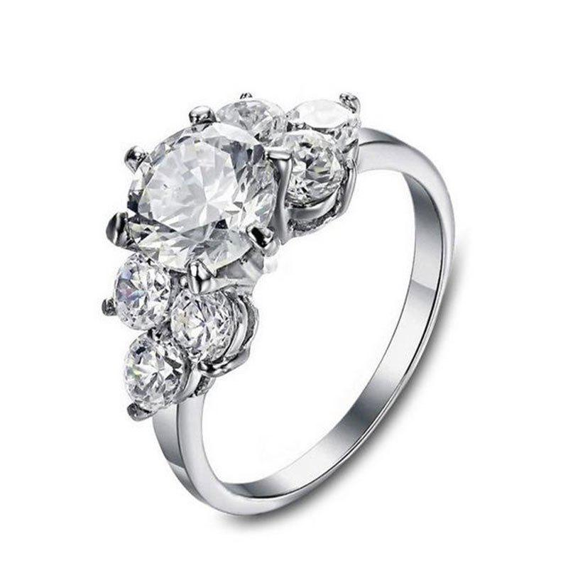 Affordable Platinum Diamond Engagement Ring